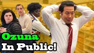 "OZUNA - ""Unica"" - SINGING IN PUBLIC!!"