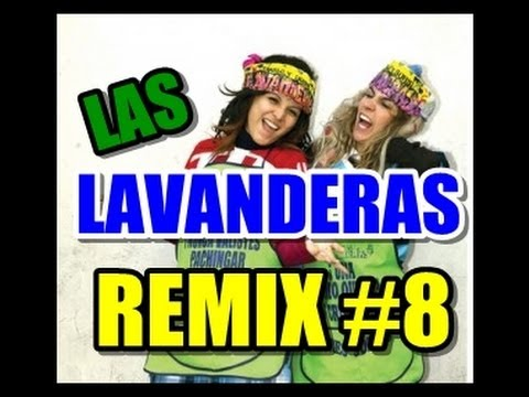 LAS LAVANDERAS REMIX 8 (Homenaje Jenni Rivera, Sexy Vaguitas,Ponys Vidente)