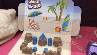 Kids Fun Time With Kinetic SAND