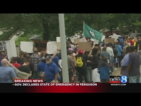 Emergency declared, curfew imposed in Ferguson