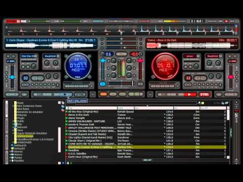 Virtual Dj Trance Mix Visual Tutorial