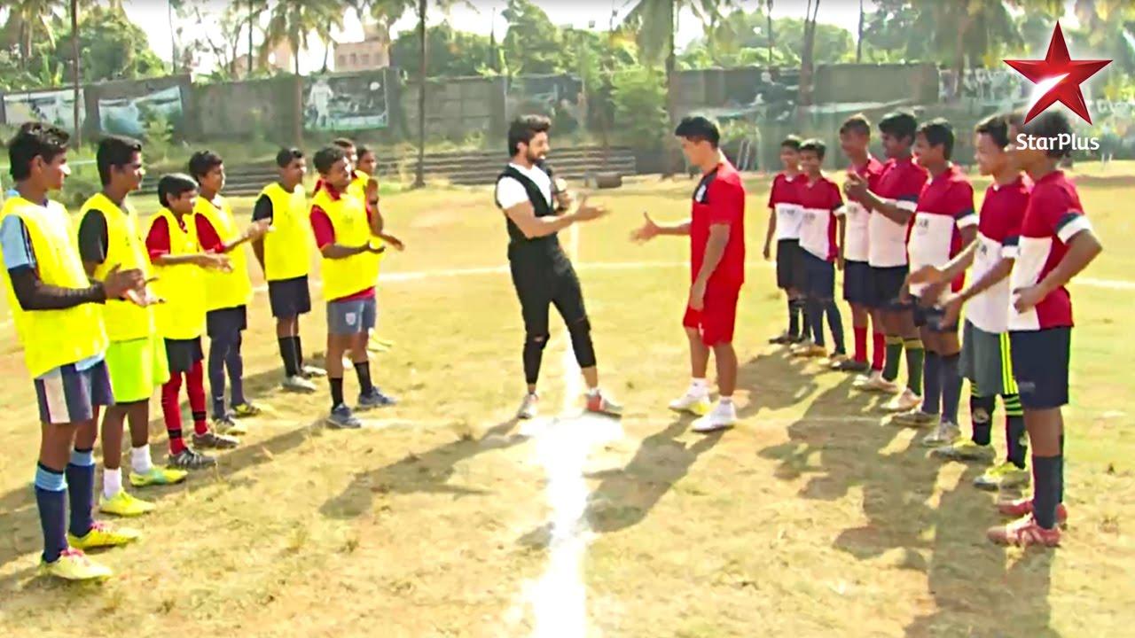 Sunil Chhetri surprises our hero, Ashok Rathod