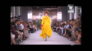 Top Model Olga Sherer Interview about her shows for Dior, Armani, D&G and more
