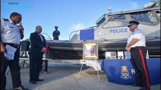 Marine vessel named in officer's honor