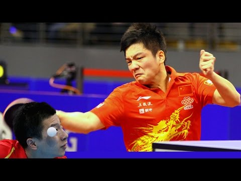 Amazing point at Open China 2014 Semis