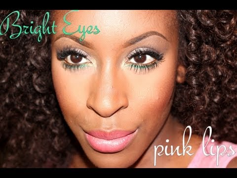 Bright Eyes/Pink Lips for Summer