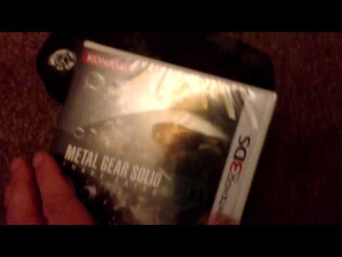 Nostalgamer Reboxes Metal Gear Solid 3D Snake Eater On Nintendo 3DS Part 2 Of 3 Reverse Unboxing