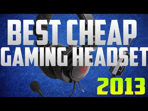 Best Cheap Gaming Headset 2013/2014 - PS3. Xbox360 and PC