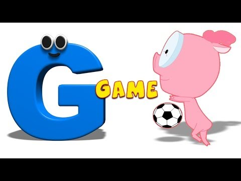 Phonics Letter- G song Kids Tv Nursery Rhymes S01EP157
