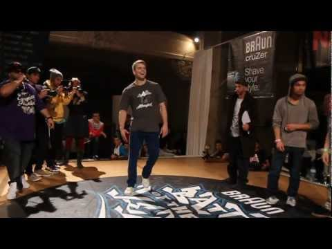 Niek vs Vicious Vic FINAL Battle of the Year 1 vs 1 Bboy Battle 2011 YAK FILMS