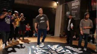 Bboy Niek (Just Do It) vs. Bboy Vicious Victor | BOTY 1vs1 2011 | Final Battle