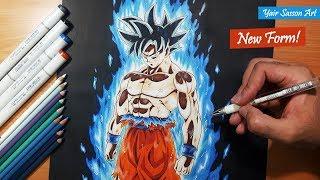 Drawing Goku's NEW FORM! - ULTRA INSTINCT!