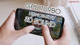 GPU Turbo, âm thanh 3D... trên Honor Play hoạt động như thế nào? - Nghenhinvietnam.vn