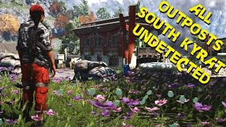 Far Cry 4 - ALL Outposts undetected stealth killer liberations South Kyrat ( GTX 980 OC + 4790k OC )