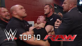 Top 10 Raw moments - September 22, 2014
