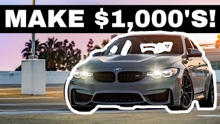 We Buy The CHEAPEST BMW M3 And Make A $5000 PROFIT! *Emotional