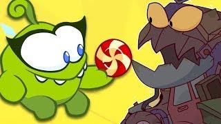 Om Nom Stories - Om Nom Versus The Monster - Cartoons and Kids Songs | Funny Cartoons For Children