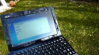 Asus Eee PC 1015PEM Outdoor Test und Samsung NF210 Vergleich