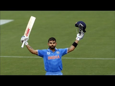 Virat Kohli's century against Pakistan in World Cup