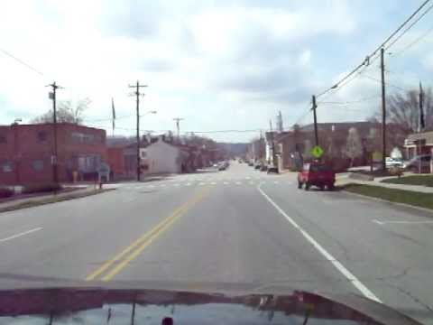 Driving Through Downtown Batavia, Oh