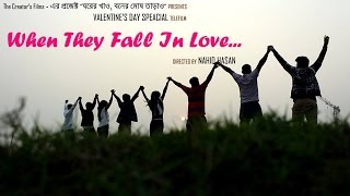 Official Trailer | When they fall in Love... | Valentine's Day Special Bangla Telefilm 2016 | Natok