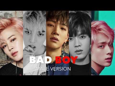 ♂ Male Version | Red Velvet - BAD BOY [HQ AUDIO]