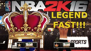 HOW TO GET LEGEND FAST!! - LEGEND finally - Nba 2k16 ante up gameplay