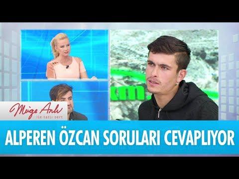 Alperen Özcan canlı yayında soruları cevaplıyor -  Müge Anlı İle Tatlı Sert  22 Kasım 2017