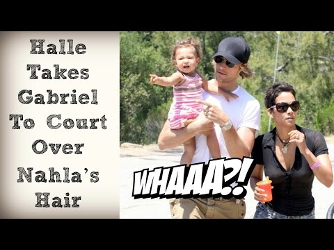 Halle Berry Takes Gabriel Aubry to Court Claims He's Trying to Make Their Daughter White