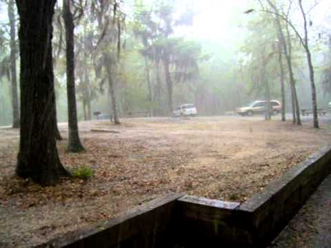 HailStorm at Little Ocmulgee State park, GA