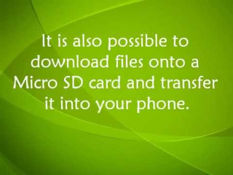 Tracfone And Net10 LG800g How To Transfer Files