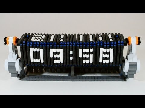 Time Twister 3 - LEGO Mindstorms digital clock