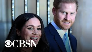 Prince Harry and Meghan stepping back from royal duties