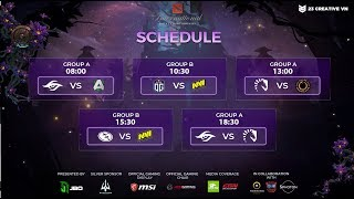 The International 9 | Group Stage Day 1 | 23 Creative VN