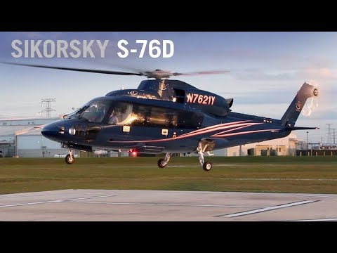 Sikorsky's New S-76D Evaluated by Former North Sea Helicopter Pilot – AINtv