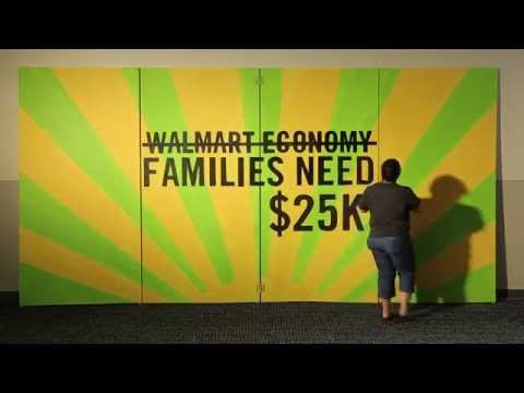 Struggling to Get by in the Walmart Economy