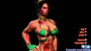  Mortal Kombat 9 Jade Hot Costume [HD]