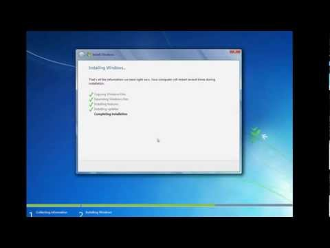 Windows 7 Operating System Installation Step By Step Procedure