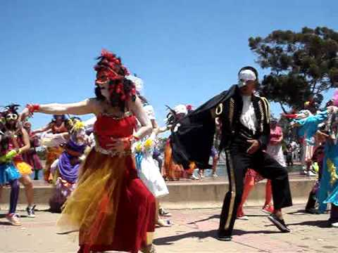 Flash Mob Thriller at Balboa Park 2011