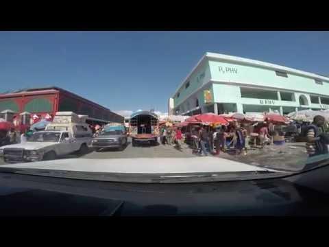 Driving Haiti 2014 Port au Prince Cité Soleil