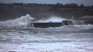 Storm in Wick Bay 15/12/12