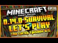 ★MINECRAFT POCKET EDITION 0.14.0 - LET'S PLAY SURVIVAL THE LUCKY EPISODE! EPISODE 15★
