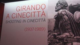 """""""Girando a Cinecittà"""", la storia del cinema italiano e internazionale in mostra negli studios romani"""