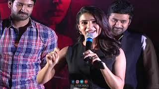 Samanta Speech at U Turn Movie Trailer Launch | Samantha Akkineni | SillyMonks Tollywood