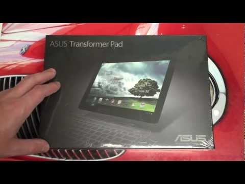 Asus Transformer Pad TF300 Unboxing