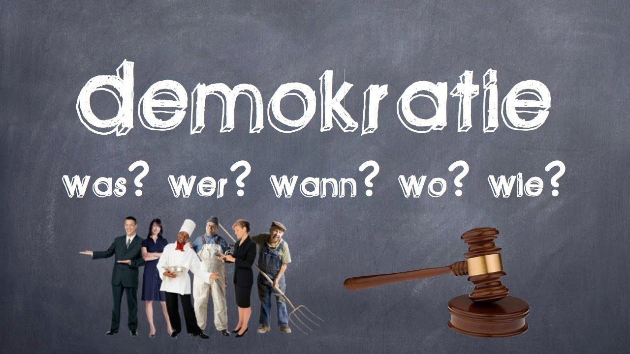 Demokratie - Was? Wer? Wann? Wo? Wie? 1/3 - YouTube