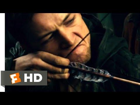 Robin Hood (2018) - Training a Legend Scene (3/10)   Movieclips