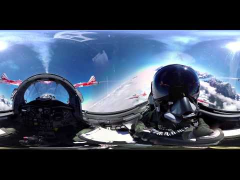 Полет на истребителе на 360         3D