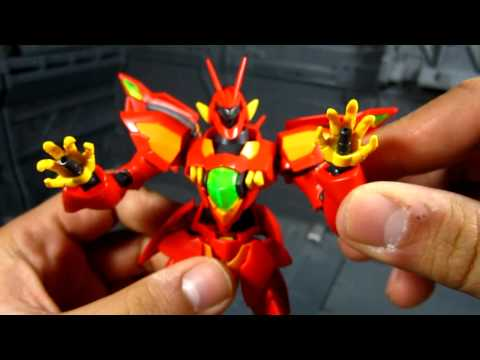 1/144 HG Zeydra Model Kit Review (from Gundam AGE Series)