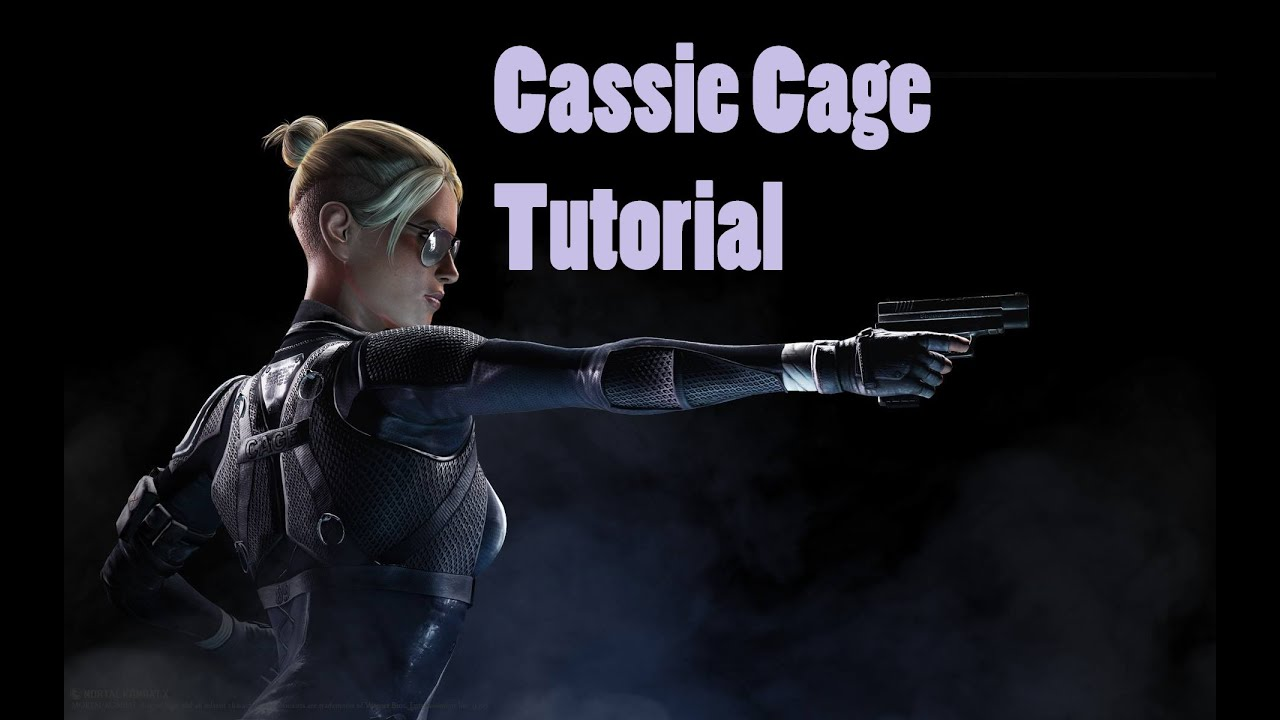 Cassie Cage Haircut How to Play Cassie Cage